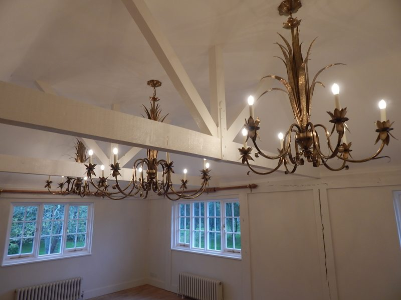 Bespoke master bedroom lights.